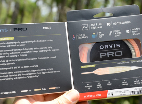 Orvis PRO Trout WF4F Textured Fly Line Review