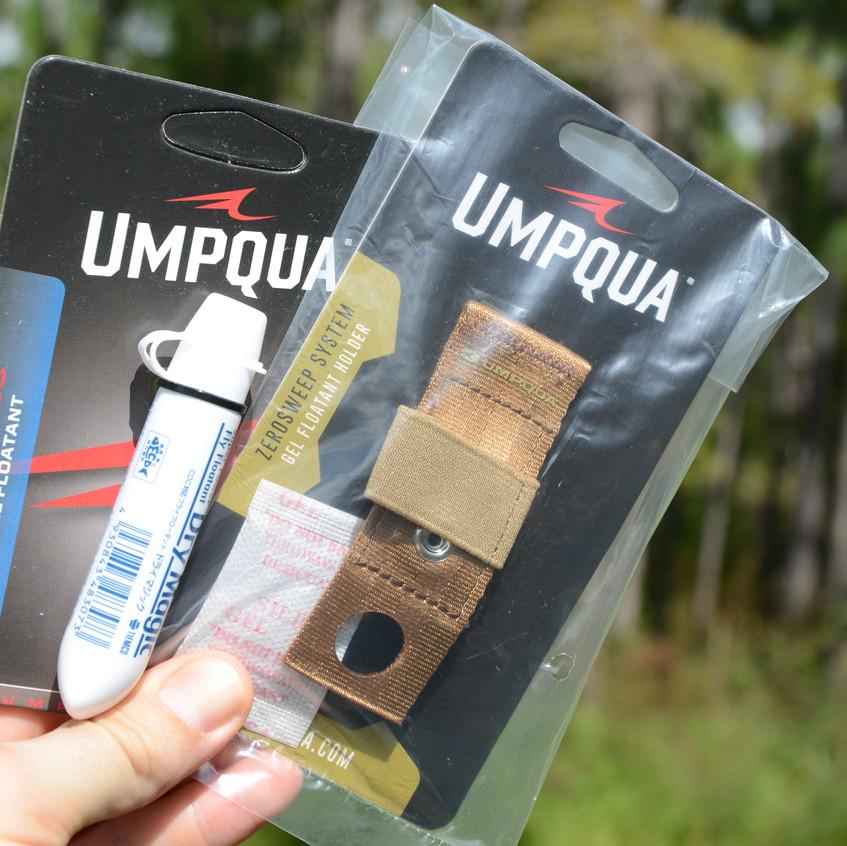 There are various Umpqua accessories....