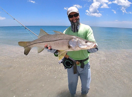 Two Days of Fly Fishing for BIG Florida East Coast Beach Snook