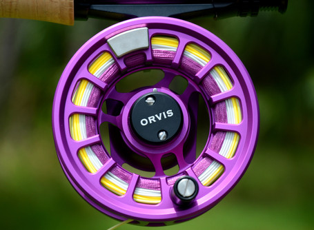 Product Spotlight: Orvis Hydros Limited Edition Purple Fly Reels