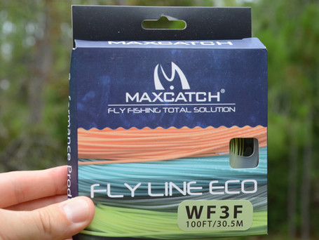 Fly Line for $15? MaxCatch WF3F ECO Fly Line Review