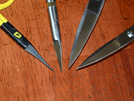 Get Acquainted with Fly Tying Scissors