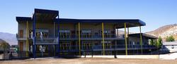 Edificio Salas de Clases y Biblioteca Lincoln International Academy
