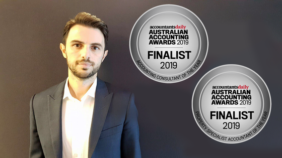 Our Senior Accountant has been nominated for 2 Awards!