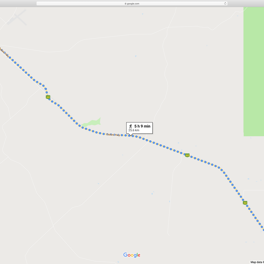 12. Tintinara to Resr Area 11478 Dukes H