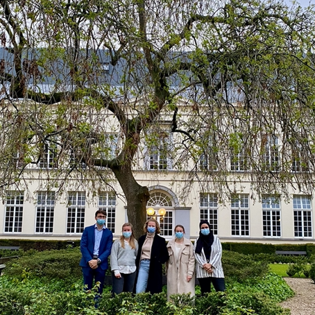 Ghent University Team participating in the 2021 Inter-American Human Rights Moot Court Competition