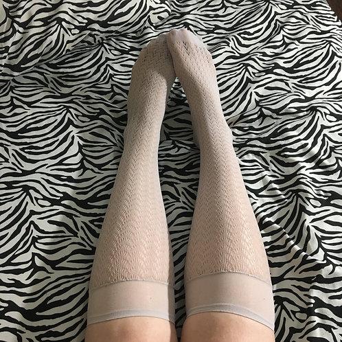 Tan Knee High Stockings