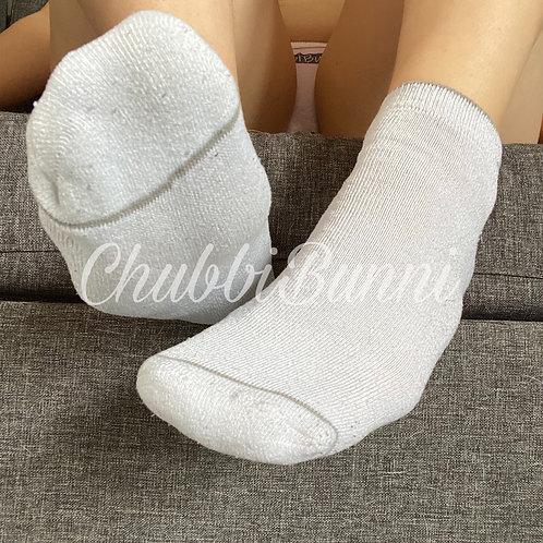 White Athletic Socks
