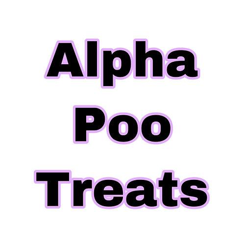"""""""Organic Fudge"""" Alpha Treats"""