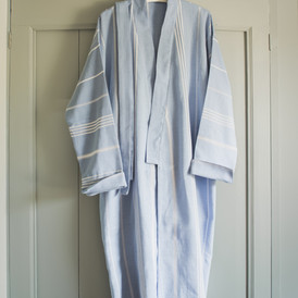 Ottomania hammam bathrobe blue 1877 1.jp