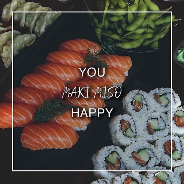 Wer macht dich glücklich_ ❤️_#sushi #ebi