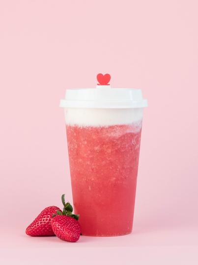 Cheesy Iced Strawberry