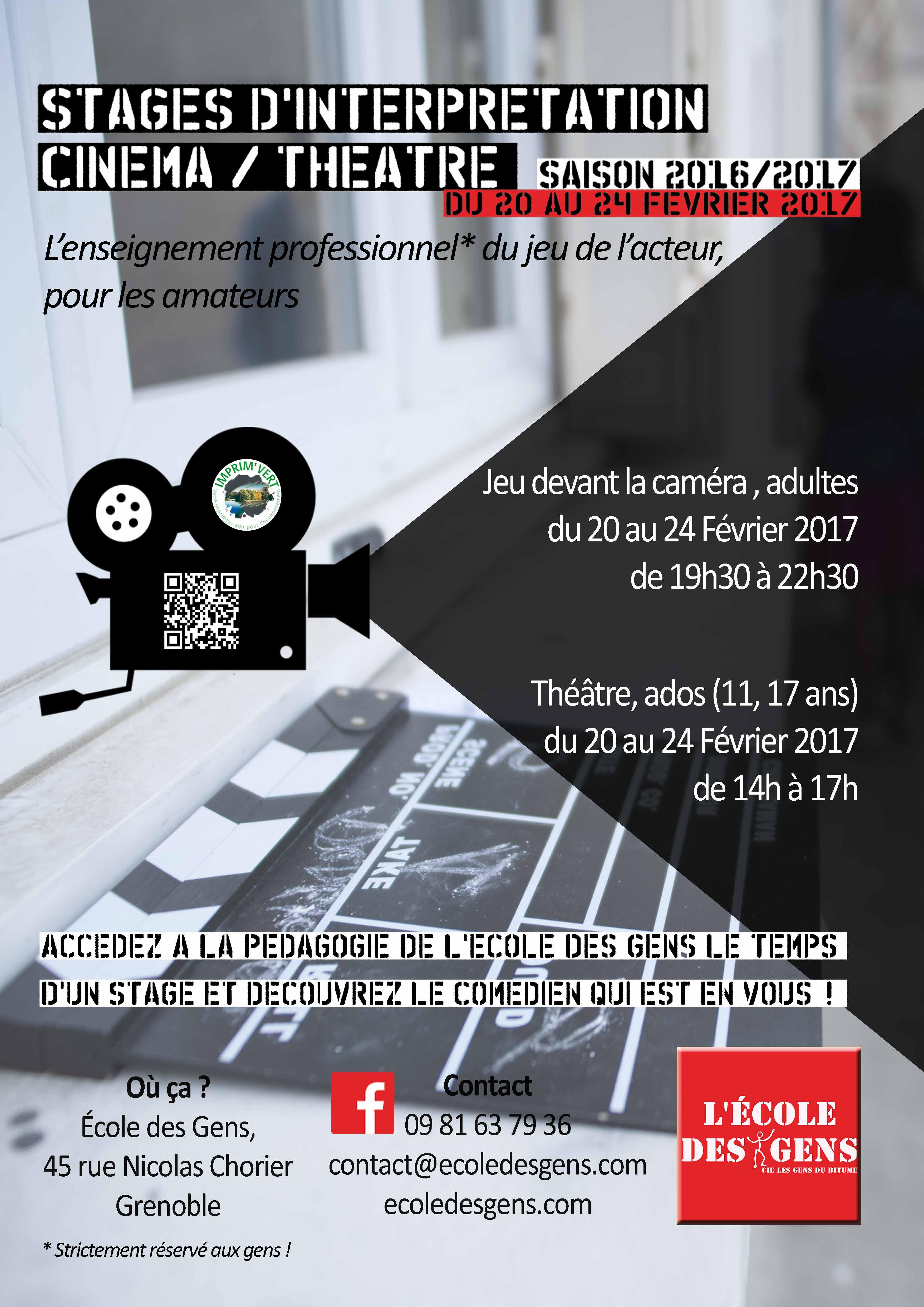 Affiche EdG cinéma