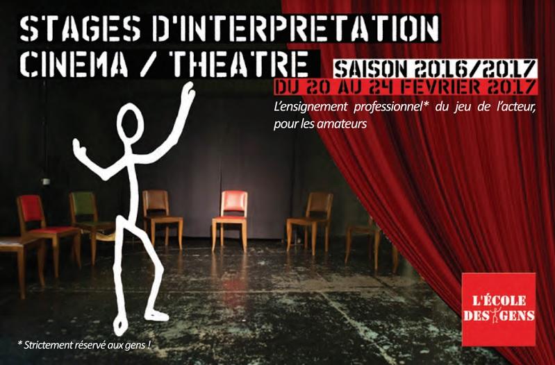 Flyer EdG théâtre