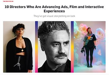 Adweek Top 10 Directors