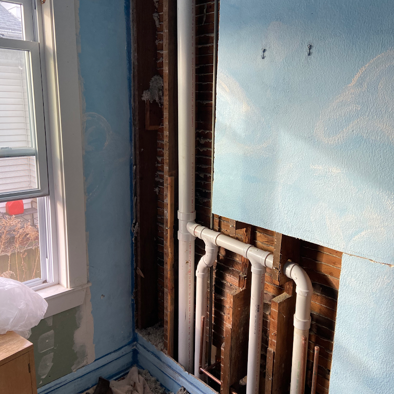 Repiping a customers house