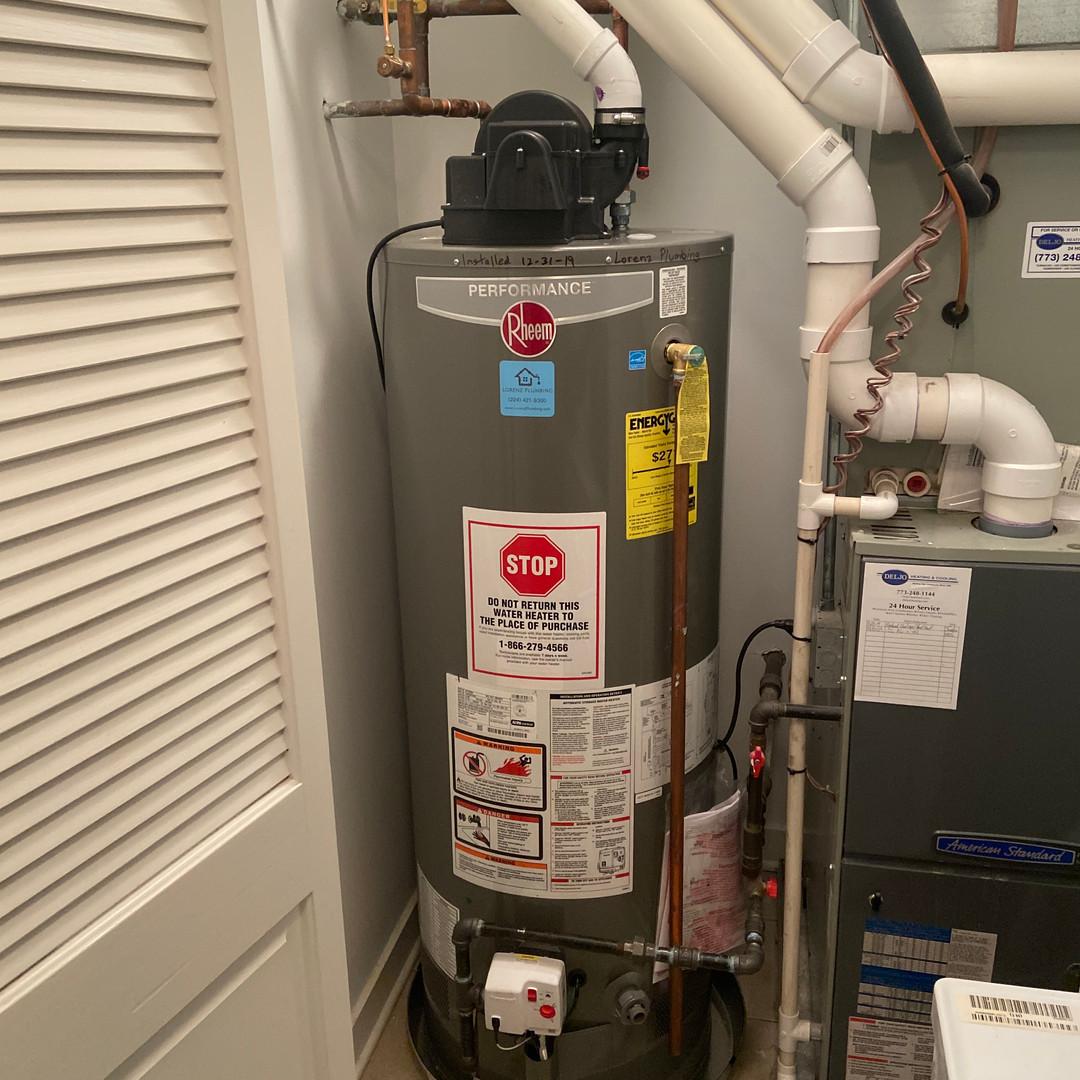 50 gallon powervent water heater