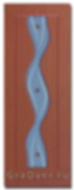 Межкомнатная дверь Вираж ПВХ фьюзинг