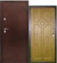 Утепленная дверь с терморазрывом МеДверь