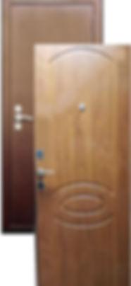 """Стальная дверь Ергак 206 """"для Хрущёвок"""""""