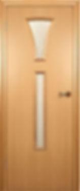 Межкомнатная дверь 204 остекленная.Краснодеревщик