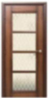 Межкомнатная дверь 33.40 остекленная матовая