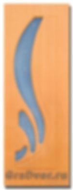 Межкомнатная дверь Лотос остекленная фабрика Градверь