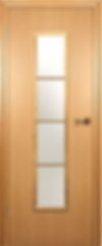 Межкомнатная дверь 206 остекленная