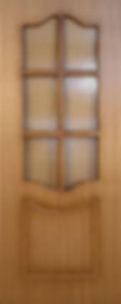 Межкомнатная дверь 2 ДР остекленная Классика