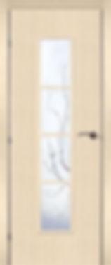 Межкомнатная дверь 50.66 остекленная Лиана