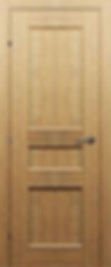 Межкомнатная дверь 30.43 орехБис глухая