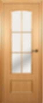 Межкомнатная дверь 208(203)остекленная.Фабрика краснодеревщик