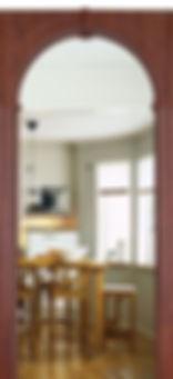 Межкомнатная дверь Тренто ПВХ остекленная фабрика Собрание