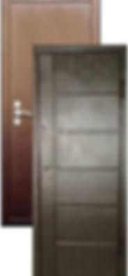 Стальная дверь Ергак 809 полимер/МДФ