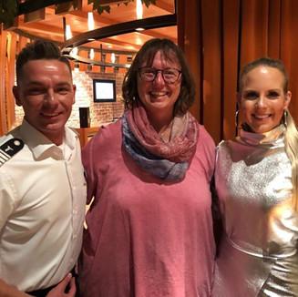Fan Foto mit Jutta und Helene