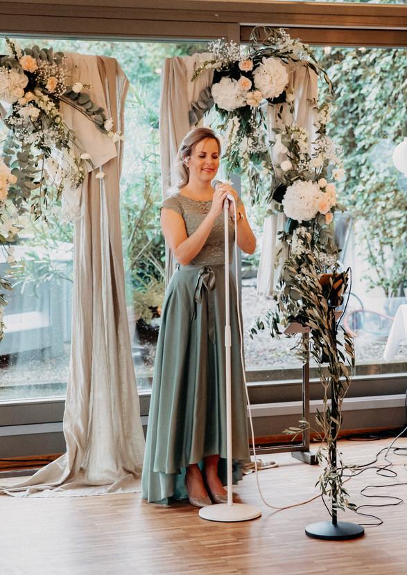 Einzug zur Hochzeit