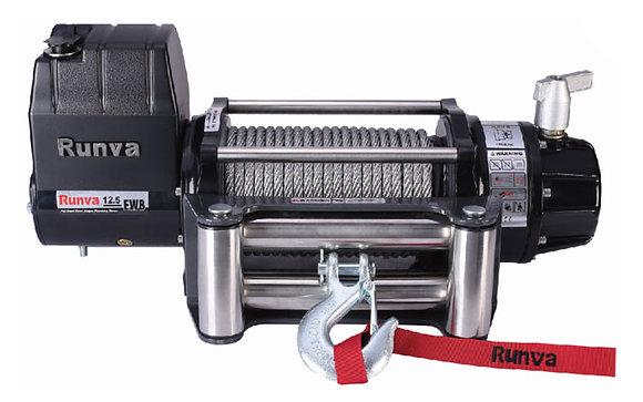 Лебёдка электрическая 12V Runva 12500 lbs 5670 кг (влагозащищенная) EWB12500U