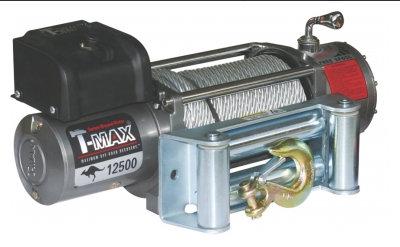 EW-12500 Improved OFF-ROAD лебедка электрическая 12В