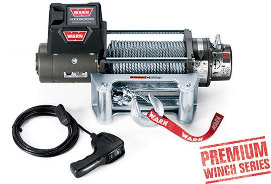 Лебедка автомобильная электрическая WARN XD9000 ( PN 88500 )