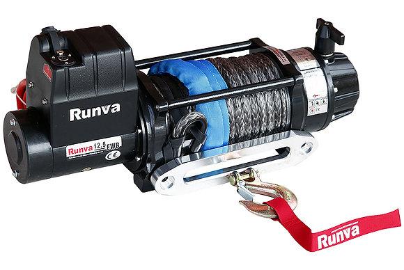 Лебёдка электрическая 12V Runva 12500 lbs 5670 кг (влагозащищенная) EWB12500USR