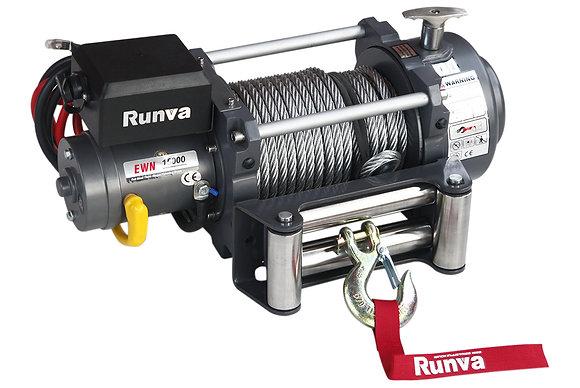 Лебёдка электрическая (индустр.) 12V Runva 15000 lbs 6800 кг EWN15000U