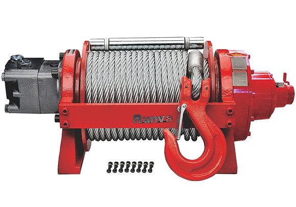 Лебёдка гидравлическая двухскоростная Runva 20000 lbs 9070 кг HWX20000YD