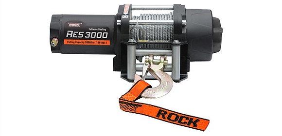 Электрическая лебедка RockWinch RES3000 steel