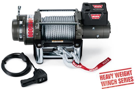 Лебедка автомобильная электрическая WARN M15000 ( PN 47801 )