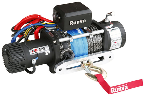 Лебёдка электрическая 24V Runva EWX12000SR24V