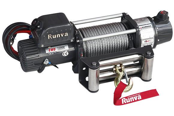 Лебёдка электрическая двухскоростная 12V Runva EWD12000U