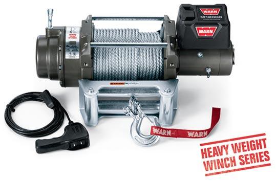 Лебедка автомобильная электрическая WARN M12000 (PN 87801)