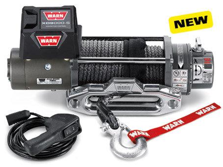 Лебедка автомобильная электрическая WARN XD9000-s ( PN 88550 )