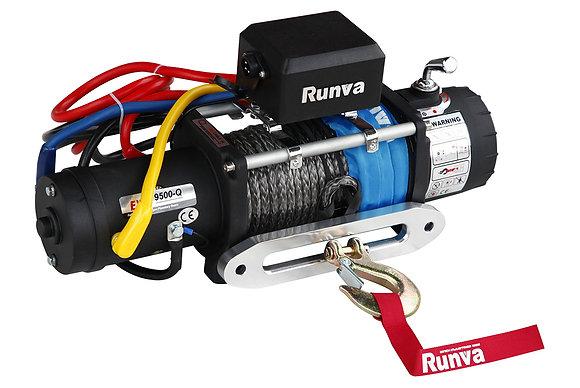 Лебёдка электрическая высокоскоростная 12V Runva EWX9500S-Q-SR