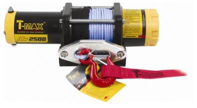 ATW PRO 2500 лебедка электрическая с синтетическим тросом